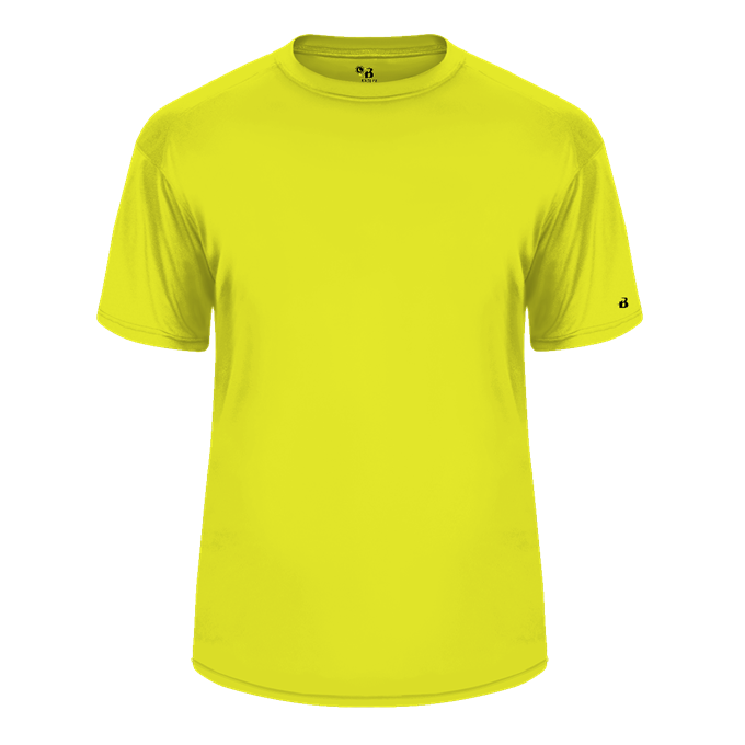 Safety-Yellow Badger 4120 B-Core Tee