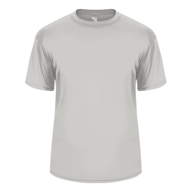 Vegas White Badger 2120 B-Core Youth Tee