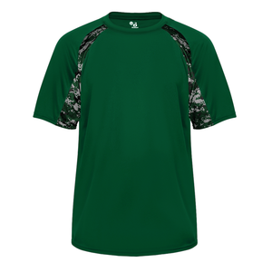Forest/Forest Badger 2140 Digital Hook Youth Tee