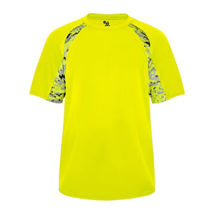 Safety-Yellow/Safety-Yellow Badger 4140 Digital Hook Tee