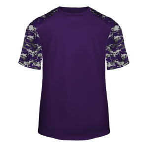 Purple/Purple Badger 4152 Digital Sport Tee