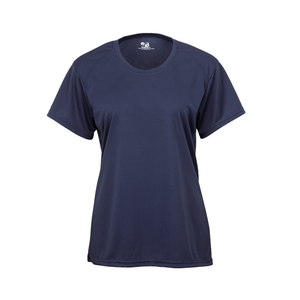 Navy Badger 4160 B-Core Women's Tee