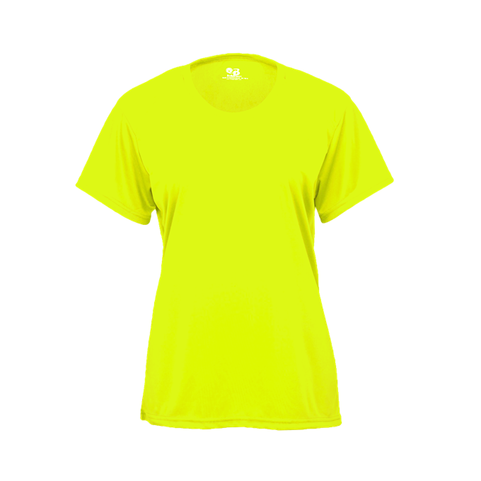 Safety-Yellow Badger 4160 B-Core Women's Tee