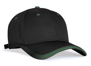 Black/Dark Green Pacific 416L Lite Series Running Cap