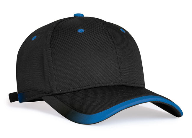 Black/Royal Pacific 416L Lite Series Running Cap