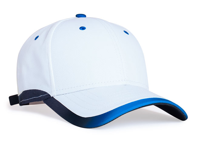 White/Royal Pacific 416L Lite Series Running Cap
