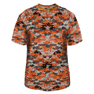 Burnt Orange Badger 4180 Digital Tee