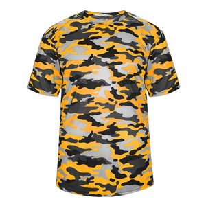 Gold Badger 2181 Camo Youth Tee