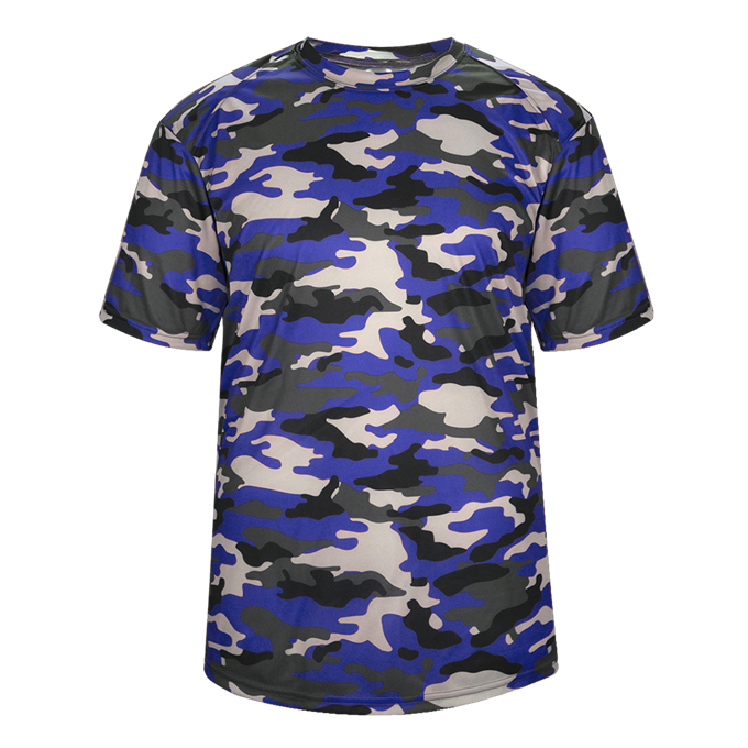 Royal Badger 2181 Camo Youth Tee