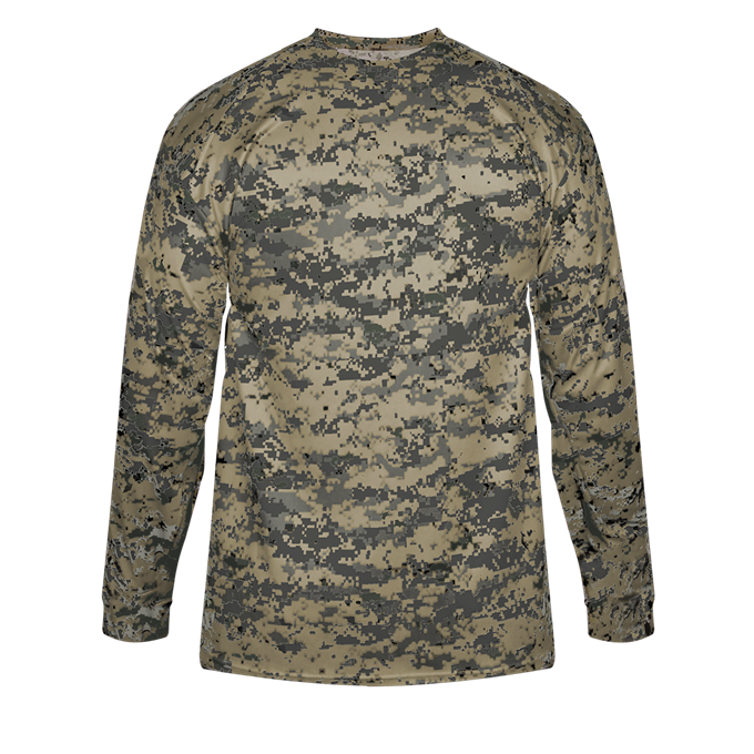 Sand Badger 4184 Digital Long Sleeve Tee