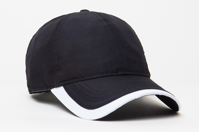 Black/White Pacific 424L Lite Series Active Cap