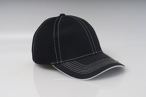 Black Pacific 455M Soft Trucker Mesh