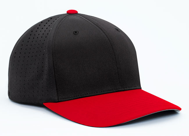 Black/Red Pacific 474F Perforated F3 Performance