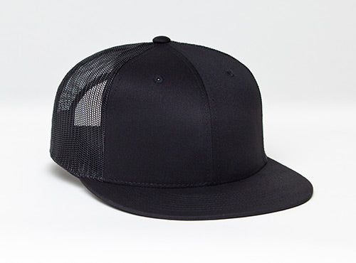 Black/Black Pacific 4D3 D-Series ADJ. Trucker