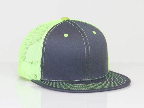 92372b1c486 Graphite Neon Yellow Pacific 4D3 D-Series ADJ. Trucker