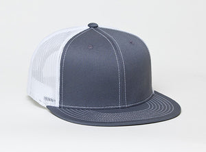 Graphite/White Pacific 4D3 D-Series ADJ. Trucker