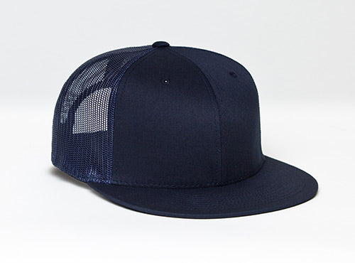 Navy/Navy Pacific 4D3 D-Series ADJ. Trucker