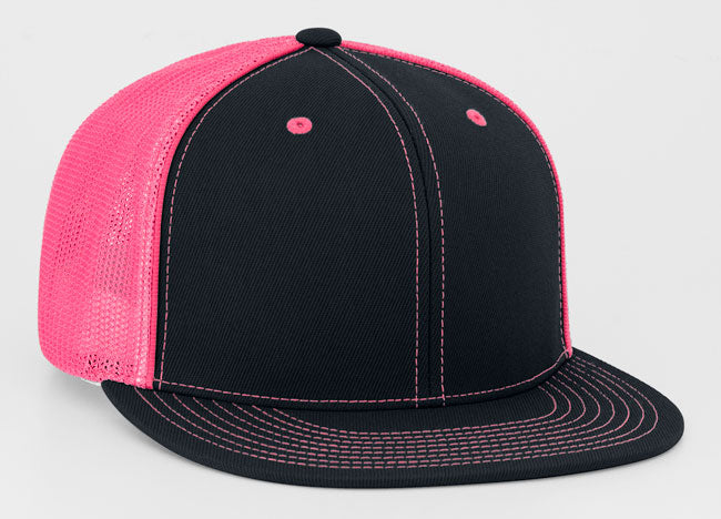 Black/Pink Pacific 4D5 D-Series Universal Trucker