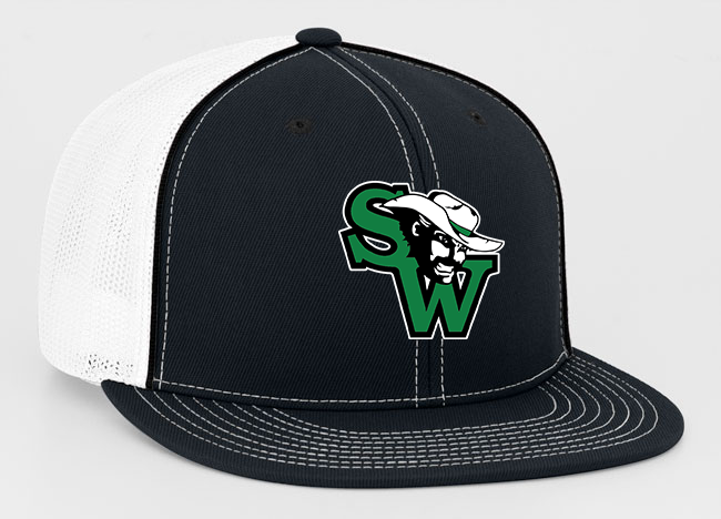 SW Football Pacific Flex-Fit Embroidered Trucker Hat
