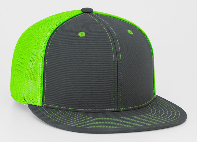 Graphite/Neon Green Pacific 4D5 D-Series Universal Trucker