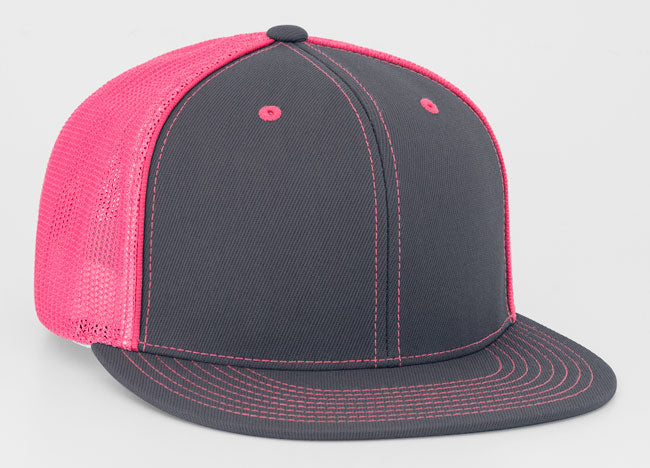 Graphite/Pink Pacific 4D5 D-Series Universal Trucker