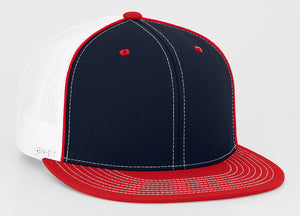 Navy/Red Pacific 4D5 D-Series Universal Trucker