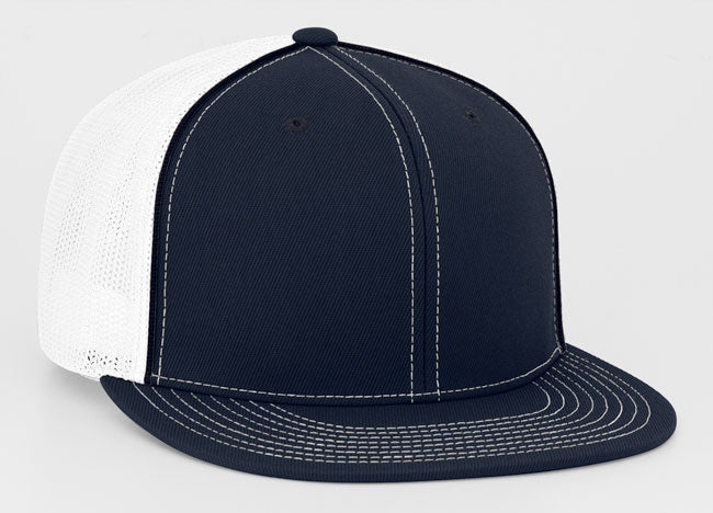 Navy/White Pacific 4D5 D-Series Universal Trucker