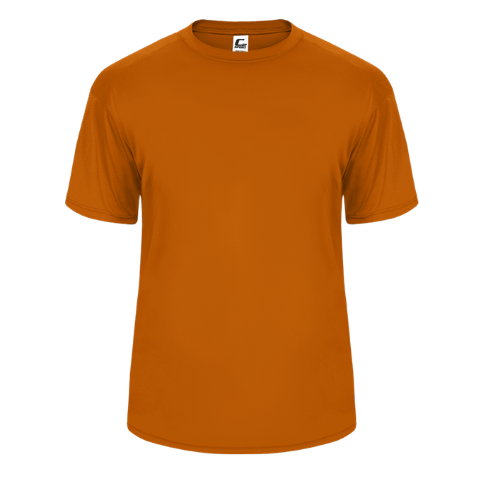 Burnt Orange Badger 5200 C2 Performance Youth Tee