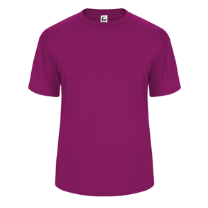 Hot Pink Badger 5200 C2 Performance Youth Tee