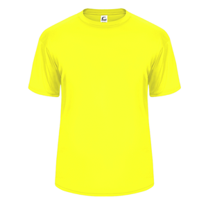 Safety-Yellow Badger 5200 C2 Performance Youth Tee