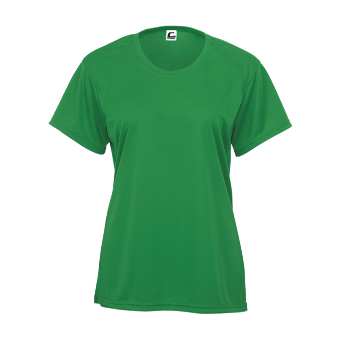 Kelly Green Badger 5200 C2 Women's Tee