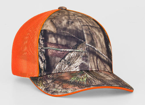 538fad4ce43 Break-Up Country Orange Pacific 694M Universal Camo Trucker