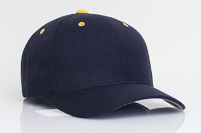 Navy/Gold-Contrasting Pacific 705W Wool Velcro