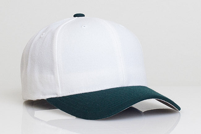White/Dark Green Pacific 705W Wool Velcro