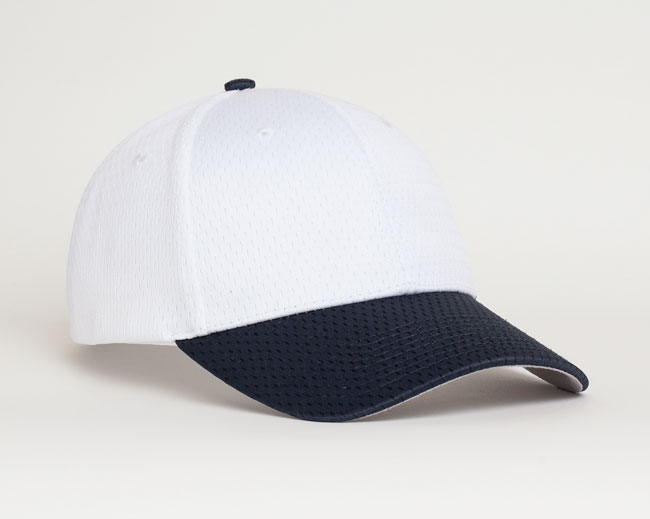 White/Navy Pacific 805M Coolport Mesh