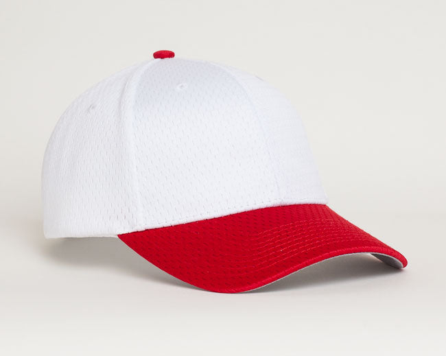 White/Red Pacific 805M Coolport Mesh