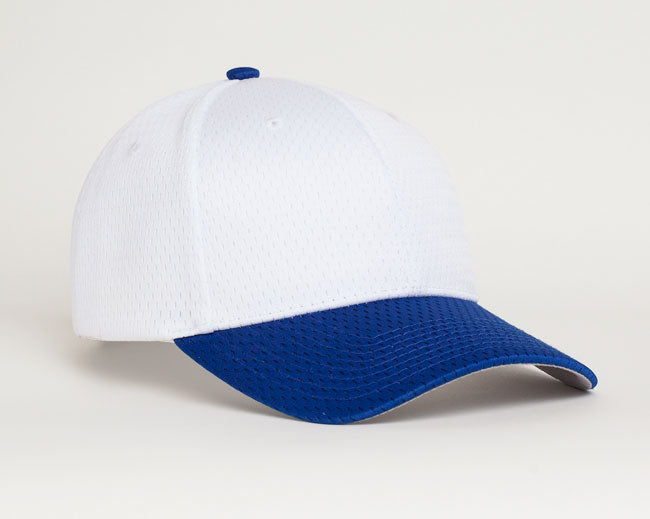 White/Royal Pacific 805M Coolport Mesh
