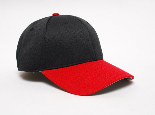 Black/Red Pacific 808M Coolport Mesh