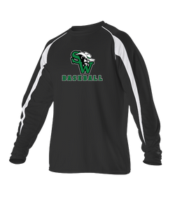 Gameday Long Sleeve Shirts w/ SW Baseball Logo