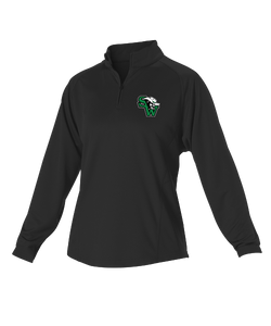 Womens Gameday 1/4 Zip Fleece Pullover