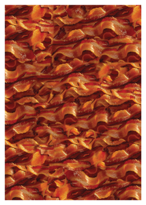 Bacon Stadium Blanket