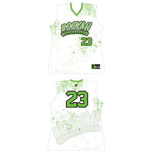 Ladies White Game Day Jersey