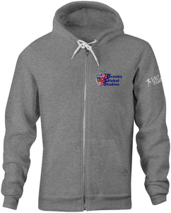 Brooks Global Zip Up Hoodie