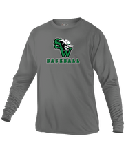 Dryfit Long Sleeve T-Shirt w/ SW Baseball Logo