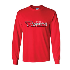 Red Cotton Long Sleeve