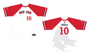 Carolina Red Sox Game Jersey - White