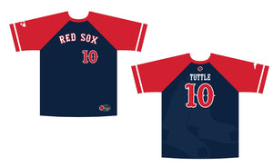 Carolina Red Sox Game Jersey - Navy