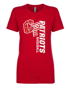 Red Ladies Fashion Tee