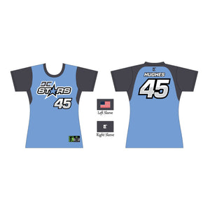 Ladies Cut Fan Jersey