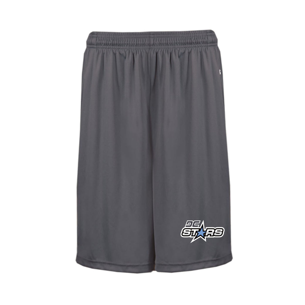 Graphite Pocketed Shorts